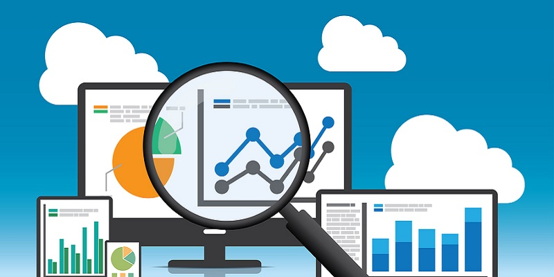 Website analytics and SEO data analysis concept. EPS10 file and included high resolution jpg